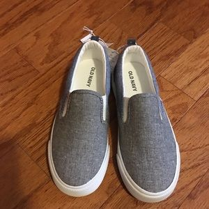 Old Navy Shoes - NEW Size 1 Boys Slip On Shoes